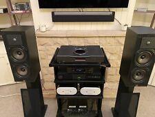 Vintage Monitor Audio 11 Soporte de montaje altavoces británico clásico en muy buena condición