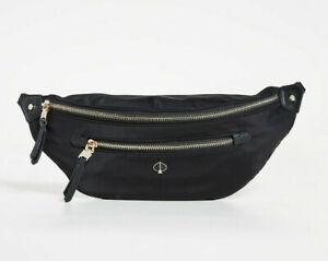 Kate Spade Taylor Large Belt Bag Nylon Fanny Pack ~NWT~ Black
