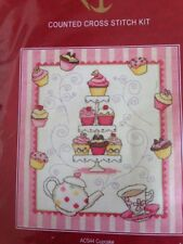 Anchor  counted cross stitch kit Cupcake  #ACS44 sealed