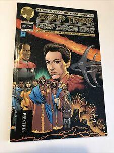 Vintage Star Trek deep space nine graphic novel 1994 vg