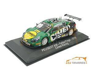 ALTAYA PEUGEOT 408 #88 FELIPE FRAGA CIMED RACING STOCK CAR 2016 1/43