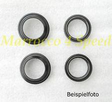 Aprilia RS 50 Extrema Replica Gabel Simmerringe Gabelsimmerringe Staubkappen Set
