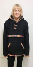 Hip Length Hooded Pull Over Fleece Jackets for Men