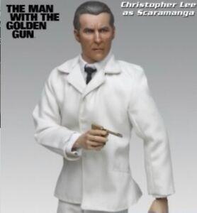 Sideshow James Bond 1/6 Christopher Lee as SCARAMANGA Man With The Golden Gun