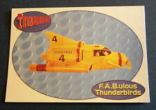 F.A.B.ULOUS THUNDERBIRDS F4 - THUNDERBIRD 4 - Cards Inc. ** Foil Chase Card