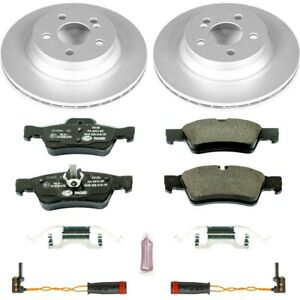 ESK5322 Powerstop Brake Disc and Pad Kits 2-Wheel Set Rear New for Mercedes
