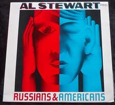 AL STEWART Russians & Americans LP