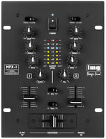 IMG Stage Line MPX-1/BK Stereo-DJ-Mischpult
