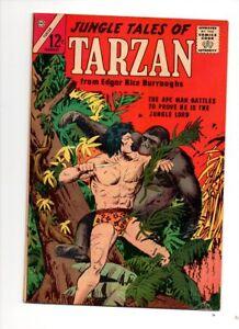JUNGLE TALES OF TARZAN #2 CHARLTON ODDITY