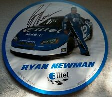 Nascar Driver Ryan Newman Signed Hero Card Auto