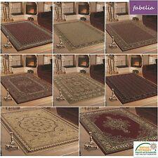 Klassischer Orientteppich / Perserteppich mit Orientalisch-Europäischen Designs