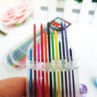 12Colors 20mm 2B Colored Pencil Lead 2mm Mechanical Clutch Refill Holder