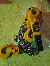 Harrington 2 Ton Lb020 10 Lever Chain Hoistcome Along 10 Ft Hoist Lift