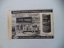 advertising Pubblicità 1965 ROLIN AREXONS