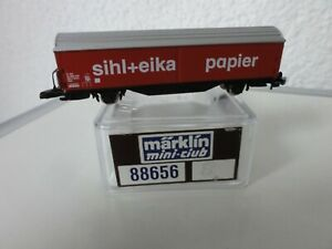 Märklin Schweiz Z 88656,8 SBB Schiebewandwagen Hbis sihl + eika Papier Miba 0966