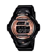 Casio BABY-G BG169G-1 Whale Series Women's Black Bronze Resin Digital Watch