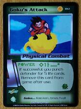 GOKU'S ATTACK [Light Play] BK1 Burger King Promo Dragon Ball Z Ccg Tcg Dbz Score