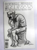 Comics - Weekly World News #1 Black and White