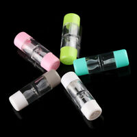 Color Plastic Soaking Box Contact Lens Case Bottle Tube Travel Glasses Holder