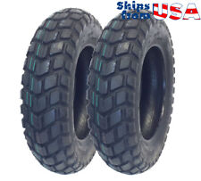 TIRE SET: Front Tire 120/90-10 Rear Tire 130/90-10 fits on HONDA Ruckus - KYMCO