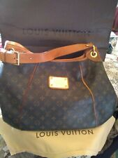 Authentic Louis Vuitton Galliera Hobo Handbag GM
