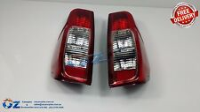 NISSAN NAVARA D40 Tail lights Taillamps NEW PAIR left & right 2005 to 2015