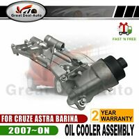 Oil Cooler Assembly for Holden Cruze JG JH 1.8L Astra AH Barina TM Trax TJ