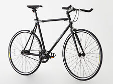 Steel Frame single speed/Fixied gear bike, 2016 Unique model, Hi spec.Matt black