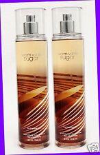 2 Bath & Body Works WARM VANILLA SUGAR Fine Fragrance Mist Body Spray