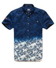 Superdry Hombre Camisa London Loom Hibiscus Dip Dye