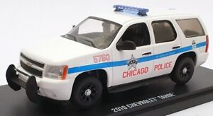 Greenlight 1/43 Scale Model Car 86183 - 2010 Chevrolet Tahoe Chicago Police
