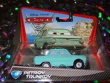 "DISNEY PIXAR CARS ""PETROV TRUNKOV"" Die-Cast Metal, Scale 1:55, NEW, Mattel"
