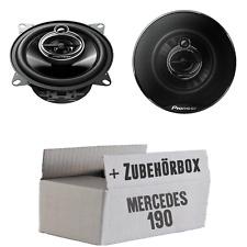 Mercedes 190   W201 Front - Pioneer - 10cm 3-Wege Lautsprecher Boxen Einbauset