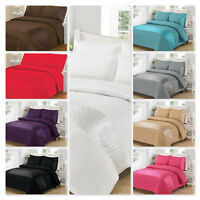 Luxury Designer Style Elipse Duvet/Quilt Covers Bedding Set 4 Sizes And 9 Colors