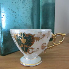 Vintage Collectible Iridescent Footed China Tea Cup