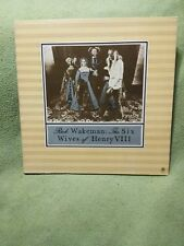 RICK WAKEMAN, The Six Wives of Henry VIII LP, 1973, A&M Records SP-4361 Vinyl EX