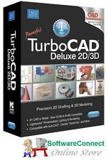 Imsi TurboCAD 21 Deluxe BUNDLE Turbo CAD Includes 2D 3D Training & CAD Symbols
