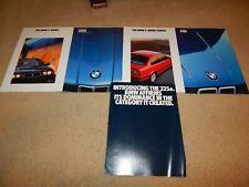Rare E21 E30 E36 BMW 3 Series 318 320 factory OEM brochures showroom posters