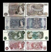 Gran Bretaña - 2x 10 Shillings,1,5,10 Pounds - Edición 1960-1977 Reproducción 03