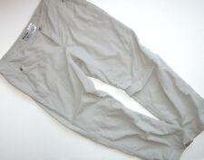 Columbia Convertible Pants 37W 29.5L Woman's Khakis Tan Omni-shade