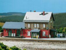 Auhagen 13275 TT Bausatz Bahnhof Hagenau  NEU in OVP