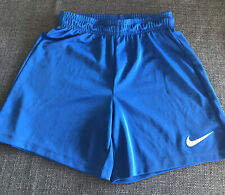 Boys Nike Dri-Fit Shorts Blue Age 10-12 Medium