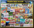 White Mountain PLACES I WENT AS KID 1577 Jigsaw Puzzle 1000pc 24x30