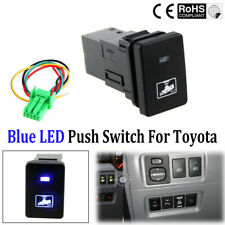 Blue LED Camera Light Push On-Off Switch Button For Toyota Camry Prius Corolla