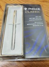 Vintage Parker Classic Stainless Ball Pen Sealed 1996 NIB sealed