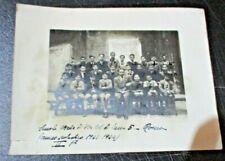 foto originale SCUOLA MEDIA VIA COL DI LANA 5 ROMA II^ F 1943-1944
