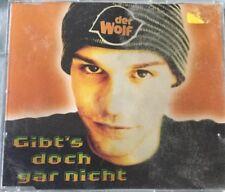 Maxi-CD Der Wolf - Gibt's doch gar nicht (1996) 5 Mixe Mercury Records