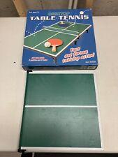 Desktop Table Tennis Game With Original Box