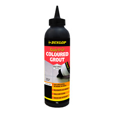 Dunlop 800g Ready-To-Go Coloured Grout - Jet Black