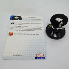 Heroclix Web of Spider-Man set The Spot #051 Super Rare figure w/card!
